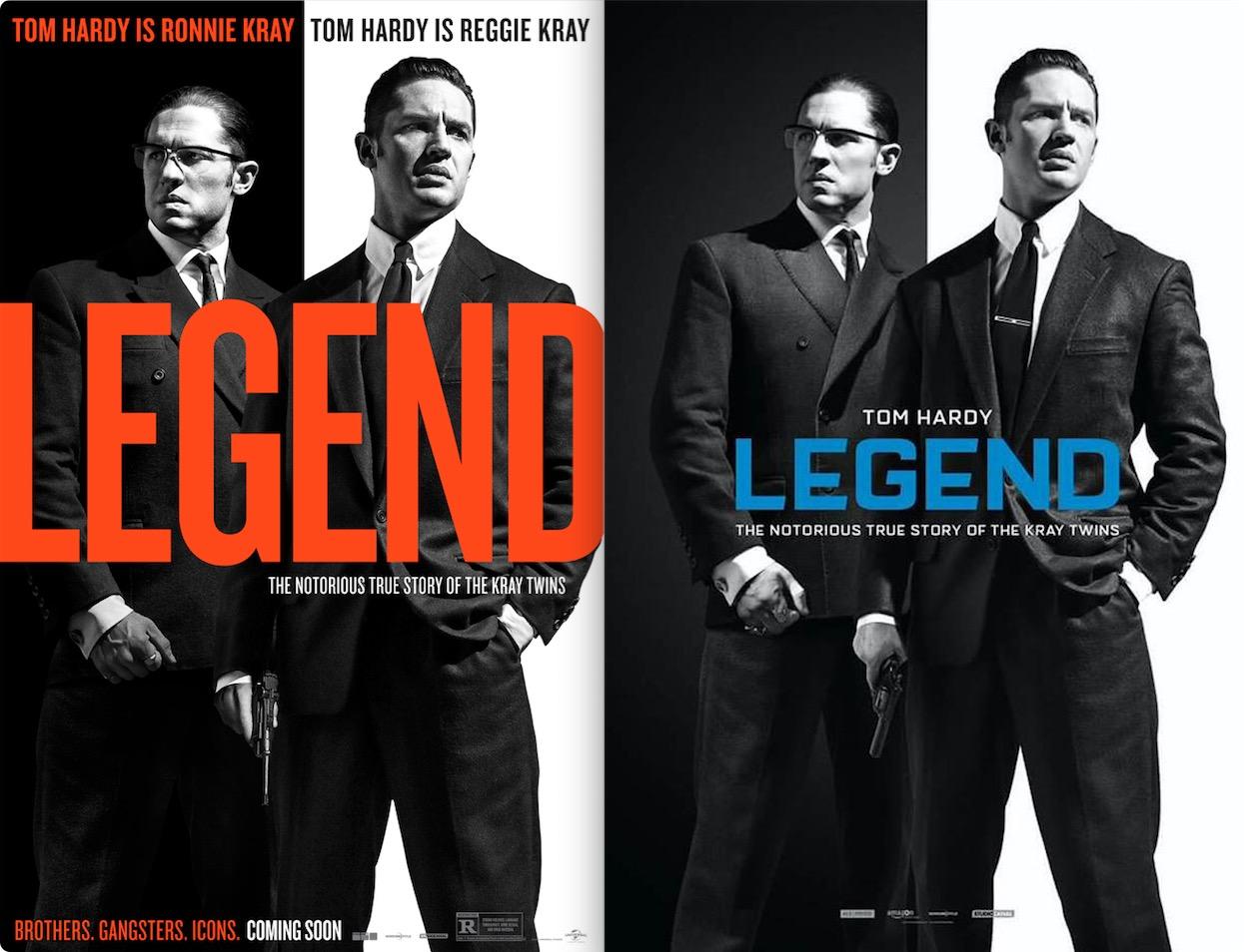 Legendの特典映像(iTunes UK/US)